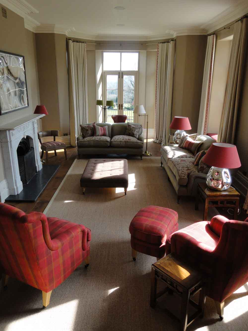 country house sitting room